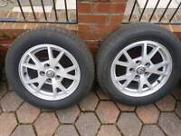 Vauxhall Insignia alloy wheels great tyres