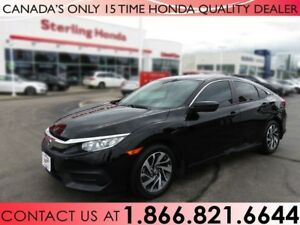 2016 Honda Civic EX | NO ACCIDENTS | 1 OWNER |