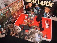 vintage ghost castle board game by mb great condition