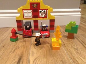 """LEGO DUPLO set 6138 """"My First Fire Station"""" $25"""