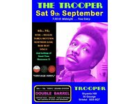 SATURDAY 9th SEPTEMBER - 60s 70s SOUL / REGGAE / MOTOWN / DISCO with DOUBLE BARREL - ST GEORGE