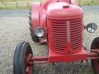 David Brown Petrol Paraffin Tractor in Working Order