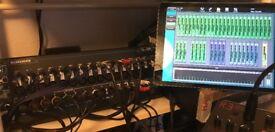 QU-SB - pro digital mixer - multitrack recorder/interface.
