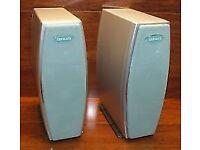 AIWA SX-LX7 - Tall Slim Bookshelf HiFi Stereo Speakers