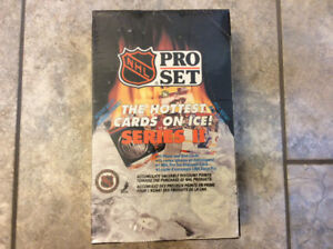 Pro Set Series II Unopened Box of Hockey Cards with 36 Wax Packs