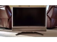 "Sharp Aquos Slim Flat Screen LCD Television 32"" - Perfect Condition - £85"