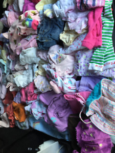 Baby girl clothing, 0-3 months, good condition, smk free, bag9