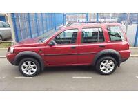 LandRover FreeLander. Auto.Full Tint. 1.8 Diesel, 55 Reg. 96k miles, Red, MOT 4/18, £1995