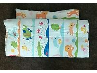 Ikea kids/baby quilt and pillow with cover and case