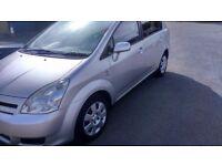 Toyota corolla verso 12 months mot 7 seater full service