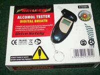 BRAND NEW ALCOHOL DIGITAL BREATH TESTER