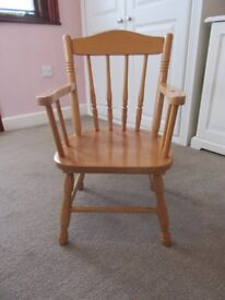 Small Wooden Chair for Toddler