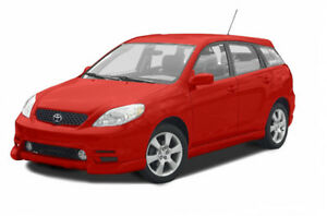 2002 Toyota Matrix Hatchback