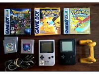 Set of 2 Pocket gameboys with Pokemon games and more