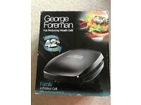 George Foreman 4 Portion Grill - Fat Reducing Health Grill - £10 or Nearest Offer