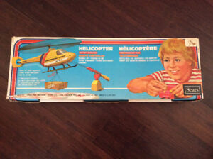 Sears Vintage Helicopter