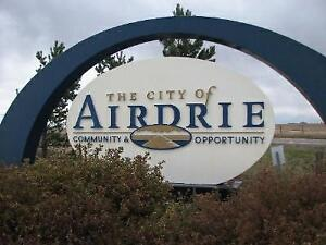 Furnished Room Available Immediately or  Sept 1st  in Airdrie