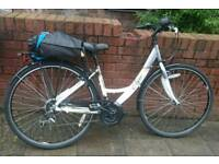 Apollo elyse hybrid womens bike