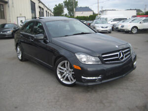 Mercedes-Benz  C300 2014 4MATIC Cuir Toit  Finance 3.99$% 19995$