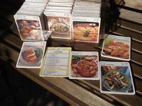 VINTAGE 1989 CARDMARK MY FAVOURITE RECIPE CARDS