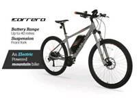 Carrera vulcan electric bike