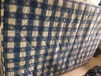 Standard double mattresses for quick sale