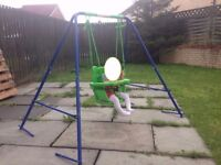 New Small Wonders Toddler Garden Swing - SETUP and READY to go