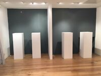 Exhibition, store, or trade show display plinth