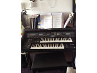 Technics EX60 Dual Keyboard Organ and Stool - SOLD Subject to collection