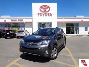 2015 Toyota Rav4 XLE AWD DEALER MAINTAINED CLEAN CARPROOF