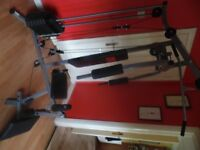gym multi fitness home gym mint condition