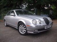 Jaguar S-Type 2.5 V6 SE 4dr NEW MOT, CRUISE, CLIMATE CNTRL 2003 (03 reg), Saloon