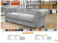 chesterfield style Sofa cum bed xKz