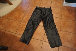 Woman's Motorcycle Leather Riding Pants