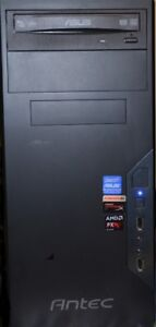 ASUS Antec Gaming Desktop AMD FX-8320 8-Core CPU, 3.5 GHZs