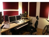 Production/Mix Room in Recording Studio
