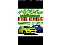 Cash for cars runners non runners 100 minimum