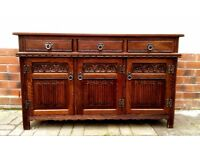 Classic; Solid Oak Old Charm sideboard