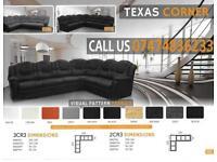 Texas corner and 3+2 sof suite kf