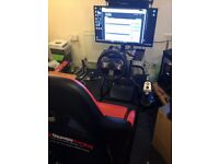 Racing seat cockpit GT Omega Racing