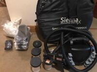 Sienna X spray tan kit and tent with extras