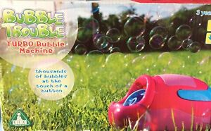 Turbo bubble machine