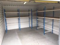 Private Mini Warehouse / Lock Up Unit Including Racking
