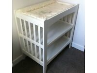 Baby Changing Table and Changing Mat