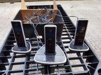 idect triple phone cordless