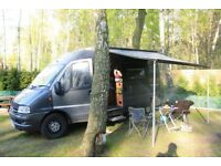 2004 citreon campervan 2 berth, awning, cycle rack, shower, toilet, inverter, diesel heater, etc