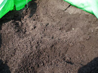 Quality screened compost/topsoil and soil improver