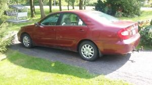 2002 Toyota Camry Berline LE V6