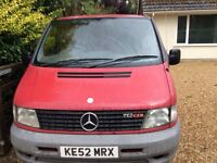 Mercedes Vito 112 cdi 2 owners from new