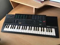 Electric keyboard with charger